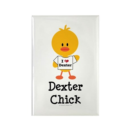 Dexter Chick Rectangle Magnet (100 pack)