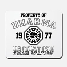 Property of Dharma - Swan Mousepad