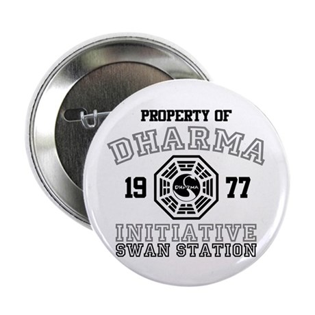 "Property of Dharma - Swan 2.25"" Button (100 pack)"