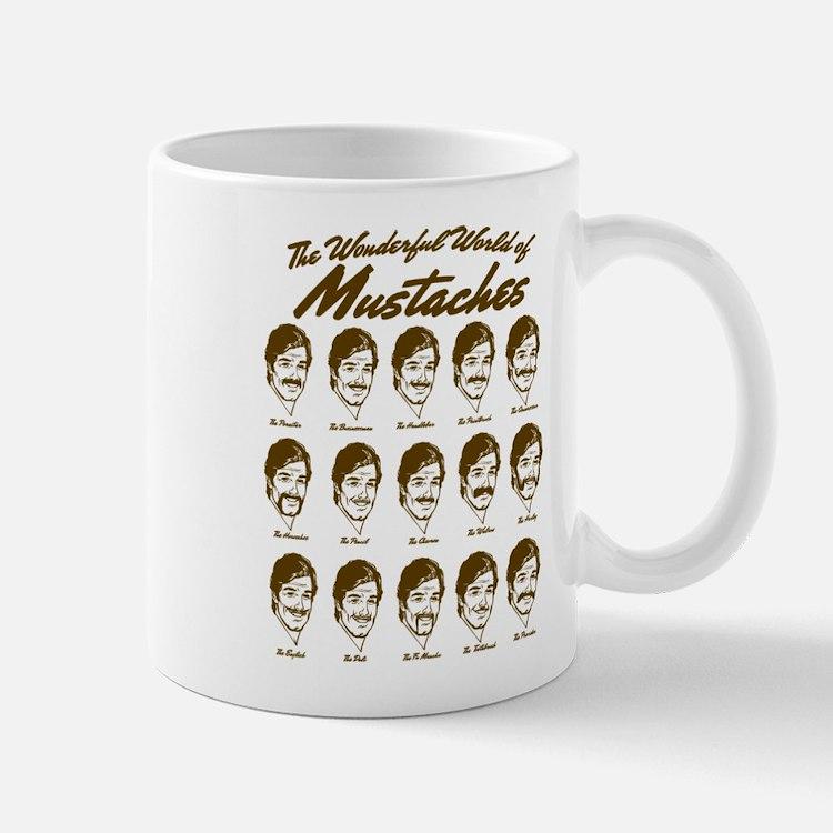 World of Mustaches Mug