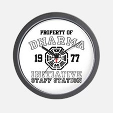 Property of Dharma - Staff Wall Clock