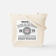 Property of Dharma - Staff Tote Bag