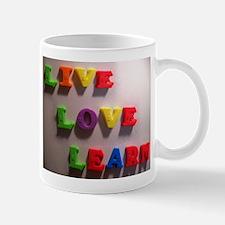 Live Love Learn Mug