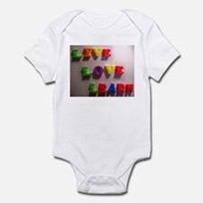 Live Love Learn Infant Bodysuit