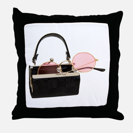 Portable Point of View Throw Pillow