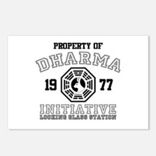 Property of Dharma - Looking Glass Postcards (Pack