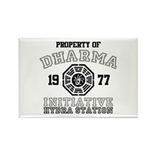 Property of Dharma - Hydra Rectangle Magnet