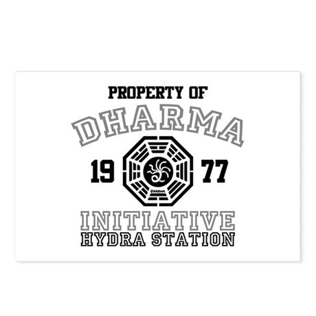 Property of Dharma - Hydra Postcards (Package of 8
