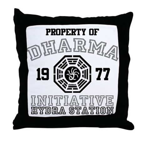 Property of Dharma - Hydra Throw Pillow