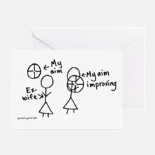 Take Aim Greeting Card