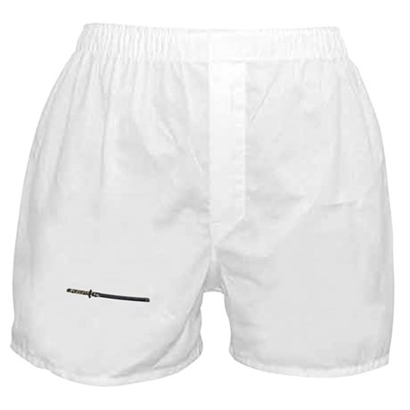 Samurai Sword Side View Boxer Shorts