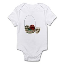 Skull Basket 3 Infant Bodysuit
