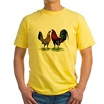 American Gamefowl Pair Yellow T-Shirt