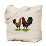 American Gamefowl Pair Tote Bag