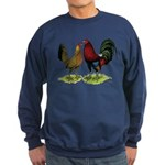 American Gamefowl Pair Sweatshirt (dark)