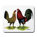 American Gamefowl Pair Mousepad