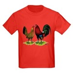 American Gamefowl Pair Kids Dark T-Shirt