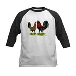American Gamefowl Pair Kids Baseball Jersey