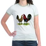 American Gamefowl Pair Jr. Ringer T-Shirt
