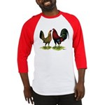 American Gamefowl Pair Baseball Jersey