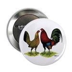 "American Gamefowl Pair 2.25"" Button (10 pack)"