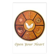 """Open Your Heart"" Postcards (Package of 8)"