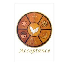 "Interfaith ""Acceptance"" Postcards (Package of 8)"
