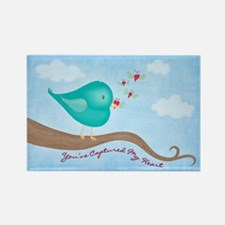 Lovebug Bird Rectangle Magnet