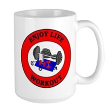 Enjoy Life Workout Mug