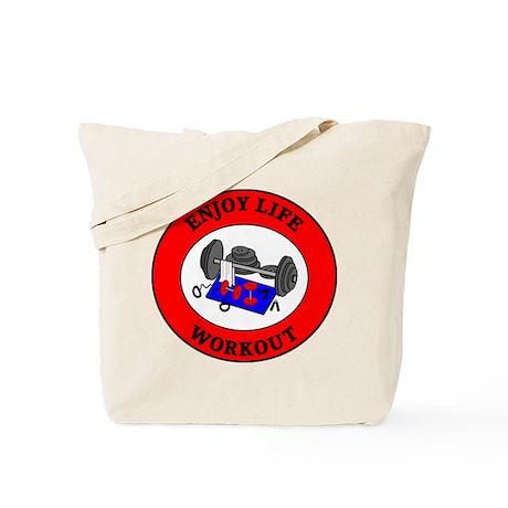 Enjoy Life Workout Tote Bag