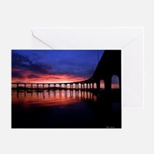Coronado Bridge Sunrise Greeting Card