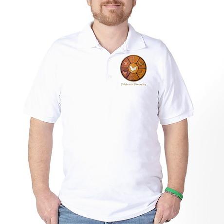 """Celebrate Diversity"" Golf Shirt"