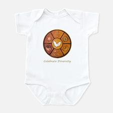 """Celebrate Diversity"" Infant Bodysuit"
