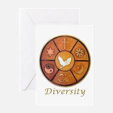 "Interfaith ""Diversity"" Greeting Card"