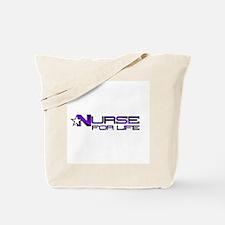 Nurse For Life Star Tote Bag