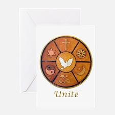"Interfaith ""Unite"" - Greeting Card"