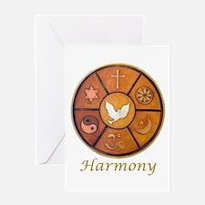 "Interfaith ""Harmony"" - Greeting Card"
