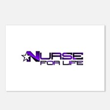 Nurse For Life Star Postcards (Package of 8)