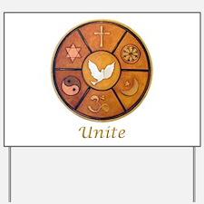 "Interfaith ""Unite"" - Yard Sign"