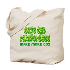 Save The Rainforests CO2 Tote Bag