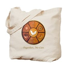 "Interfaith ""Together, We Can"" Tote Bag"
