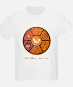 """Interfaith """"Together, We Can"""" T-Shirt"""