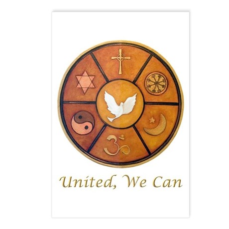 """United, We Can"" Postcards (Package of 8)"