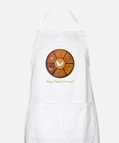 """May Peace Prevail"" Apron"