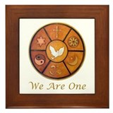 Unitarian universalism Framed Tiles