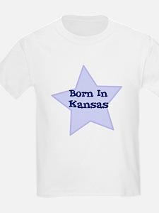 Born In Kansas  Kids T-Shirt