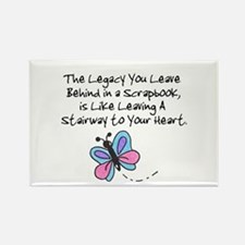 Scrapbooking Legacy Rectangle Magnet