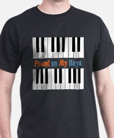 Double Entendre Keyboard Shirt T-Shirt