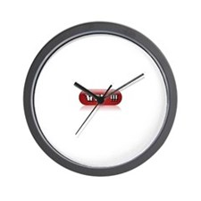 Cute Wtf Wall Clock
