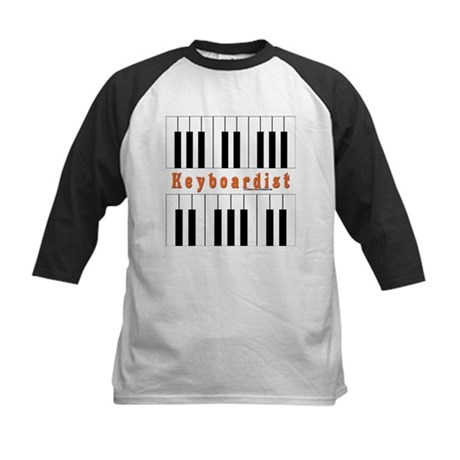 Keyboardist Jam Shirt Kids Baseball Jersey
